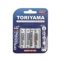 Toriyama ถ่านชาร์จ รุ่น AAA1200 แพ็ก 4
