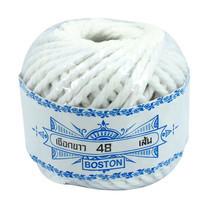 Boston เชือกขาว 48 เส้น 13 หลา (แพ็ก 12 ม้วน)