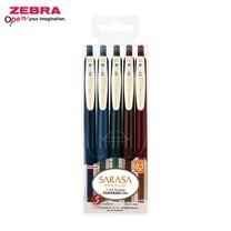 Zebra ปากกาหมึกเจล Sarasa Clip 0.5 มม. Vintage Color 5 สี JJ15-5C-VI