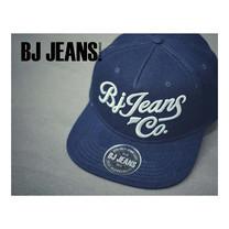 BJ JEANSหมวก snapback สีกรมท่า BJAD-065-01-F