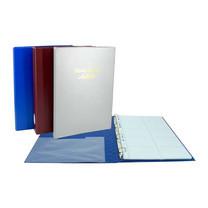 Robin สมุดนามบัตร No.35/004 คละสี (แพ็ก 2 เล่มสีเดียวกัน)