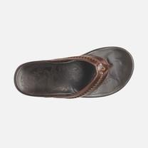 Olukai รองเท้าผู้ชาย 10138-4848 M-MEA OLA DARK JAVA/DARK JAVA 10 US