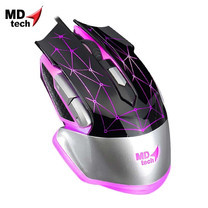 MD-TECH Optical Mouse USB K-903 Black/Silver