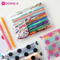 Sakura DONG-A ปากกา mycolor2 ชุดเซ็ท 15 สี MC2-15C (กระเป๋าคละสี)