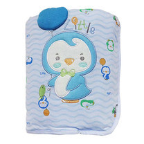 Little Wacoal penguin baby blanket blue colour ไซส์ 30 x 40 นิ้ว