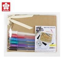 SAKURA GELLY ROLL Deco Set A ชุดปากกาเจลลี่โรล+เซ็ทกระดาษ