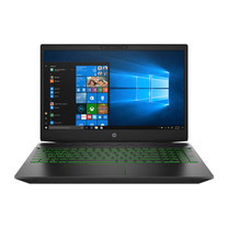 HP Notebook Pavilion Gaming 15-cx0083TX Shadow Black and Green accents