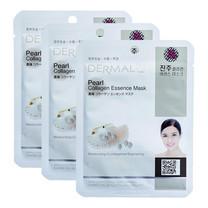 Dermal Pearl collagen essence mask 23ก. #White
