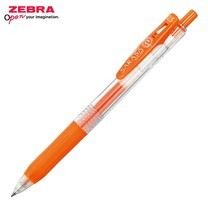Zebra ปากกาหมึกเจล Sarasa Clip 0.5 มม. JJ15-ROR หมึกสีแดง-ส้ม (12 ด้าม/กล่อง)