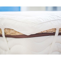 LEREEN ท็อปเปอร์รองที่นอน Supersoft หนา 3 นิ้ว 3.5 ฟุต