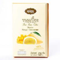 แม่เอย ขนมเปี๊ยะ 6 ชิ้น ไส้มะม่วง 120 ก.