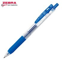 Zebra ปากกาหมึกเจล Sarasa Clip 0.5 มม. JJ15-COBL หมึกสีน้ำเงินเข้ม (12 ด้าม/กล่อง)