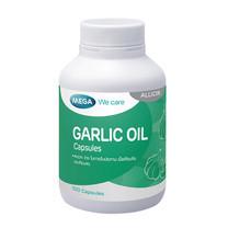 Mega We Care GARLIC OIL 0.625 มก. สารสกัดจากกระเทียม บรรจุ 100 แคปซูล