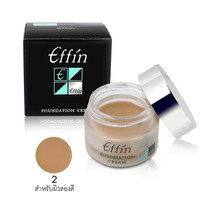 Effin Foundation Cream No.02 16 ก.