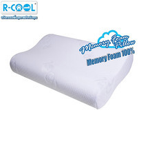 R-Cool Memory Foam Curve Pillow (ขนาดกลาง)