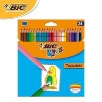 BIC Kids (1 แถม 1) ดินสอสีไม้ Tropicolors 24 สี