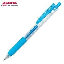 Zebra ปากกาหมึกเจล Sarasa Clip 0.5 มม. JJ15-LB หมึกสีฟ้าอ่อน (12 ด้าม/กล่อง)