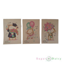Sugar Daisy สมุดฉีก A5 รุ่น ECO-P515 คละลาย (แพ็ก 3 เล่ม)