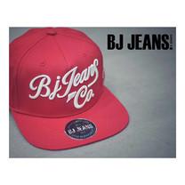 BJ JEANSหมวก snapback สีแดง BJAD-065-29-F