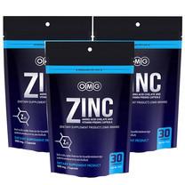 OMG Zinc Amino Acid Chelate And Vitamin Premix (ซิงค์ อะมิโน แอซิด คีเลต และวิตามินพรีมิกซ์) แพ็ก 3 รวมบรรจุ 90 แคปซูล