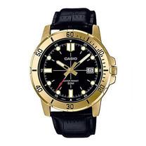 Casio นาฬิกาข้อมือ รุ่น MTP-VD01GL-1EVUDF Black