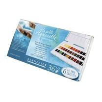 SENNELIER ชุดสีน้ำก้อน Travel Box 36 สี