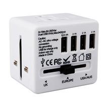 ELECTON ปลั๊กเดินทางทั่วโลก 150 ประเทศ 4 USB รุ่น TK-192 USB4