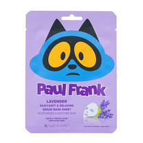 Paul Frank Lavender Silky Soft & Relaxing Serum Mask Sheet
