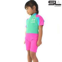 STREAMLINE 2 ชิ้น เสื้อแขนสั้น กางเกงขาสั้น สีชมพู ซันสกรีน
