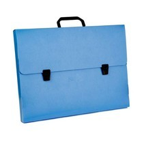 Flamingo กระเป๋าพลาสติก A3 ฟลามิงโก้ 946 สีน้ำเงิน