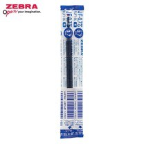 Zebra ไส้ปากกาหมึกเจล JF 0.7 มม. (บรรจุ 10 ชิ้นในกล่อง) น้ำเงิน