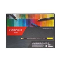 Caran D'Ache ชุดดินสอสีระบายน้ำ Museum 40 สี