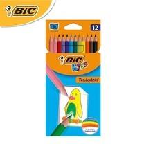 BIC Kids (1 แถม 1) ดินสอสีไม้ Tropicolors 12 สี