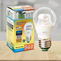 Bio Bulb LED G45 ขั้ว E27-5 วัตต์ แสงวอร์มไวท์