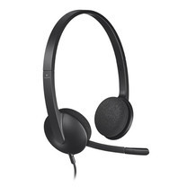Logitech USB Headset H340 Black
