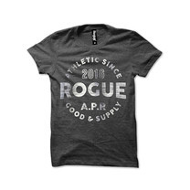 Rogue Men T-Shirt MST-16 Gray SizeXXL
