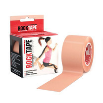 ROCKTAPE Model Standard Beige Colour Size 5 ซม. x 5 ม.