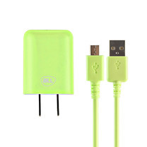 Bill Wall Charge Micro USB BLL2001 เขียว