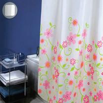 WSPม่านห้องน้ำเนื้อผ้าไนล่อน 100% พิมพ์ลาย ขนาด 180x180 ซม.ลาย SO SWEETY