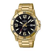 Casio นาฬิกาข้อมือ รุ่น MTP-VD01G-1BVUDF Gold