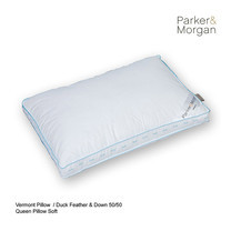 Parker & Morgan Vermont Duck Feather & Down 50/50 Pillow Queen ไซส์