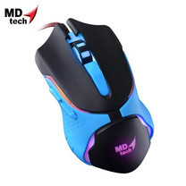 MD-TECH Optical Mouse USB BC-86 Blue