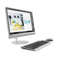 Lenovo All In One Computer ideacentre AIO 520-22ICB i5-8400T 4G1T R5302G W10 3Y Silver