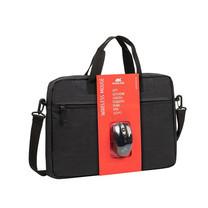 "Rivacase กระเป๋าโน๊ตบุ๊ค รุ่น Bundle 8038 Laptop bag 15.6"" + Wireless mouse"