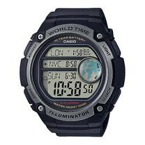 Casio นาฬิกาข้อมือผู้ชาย รุ่น AE3000W-1AVDF Black