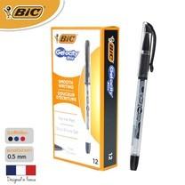 BIC ปากกาเจล Gel-ocity Stic 0.5 มม. (12 ด้าม/กล่อง) สีดำ