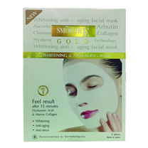 Smooth E BABY FACE GOLD WHITENING & ANTI-AGING 3 แผ่น