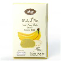 แม่เอย ขนมเปี๊ยะ 6 ชิ้น ไส้กล้วย 120 ก.