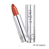 IN2IT Moisture Intense Lipstick 4 ก. #MI02 Cognac