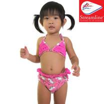 STREAMLINE 2 ชิ้น เสื้อคล้องคอ กางเกงขาเว้า สีชมพู